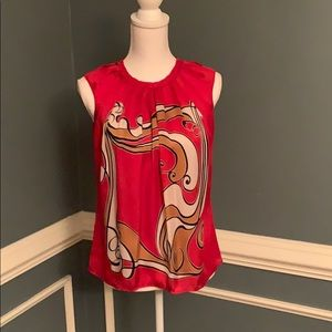 Sleeveless blouse, excellent condition!